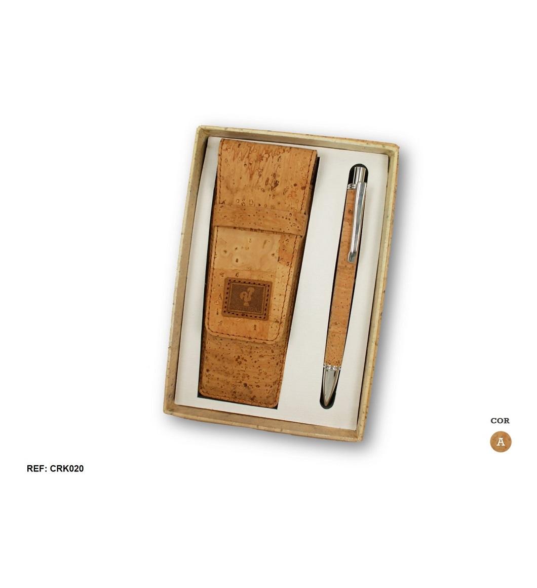 Conjunto para canetas + Esferográfica