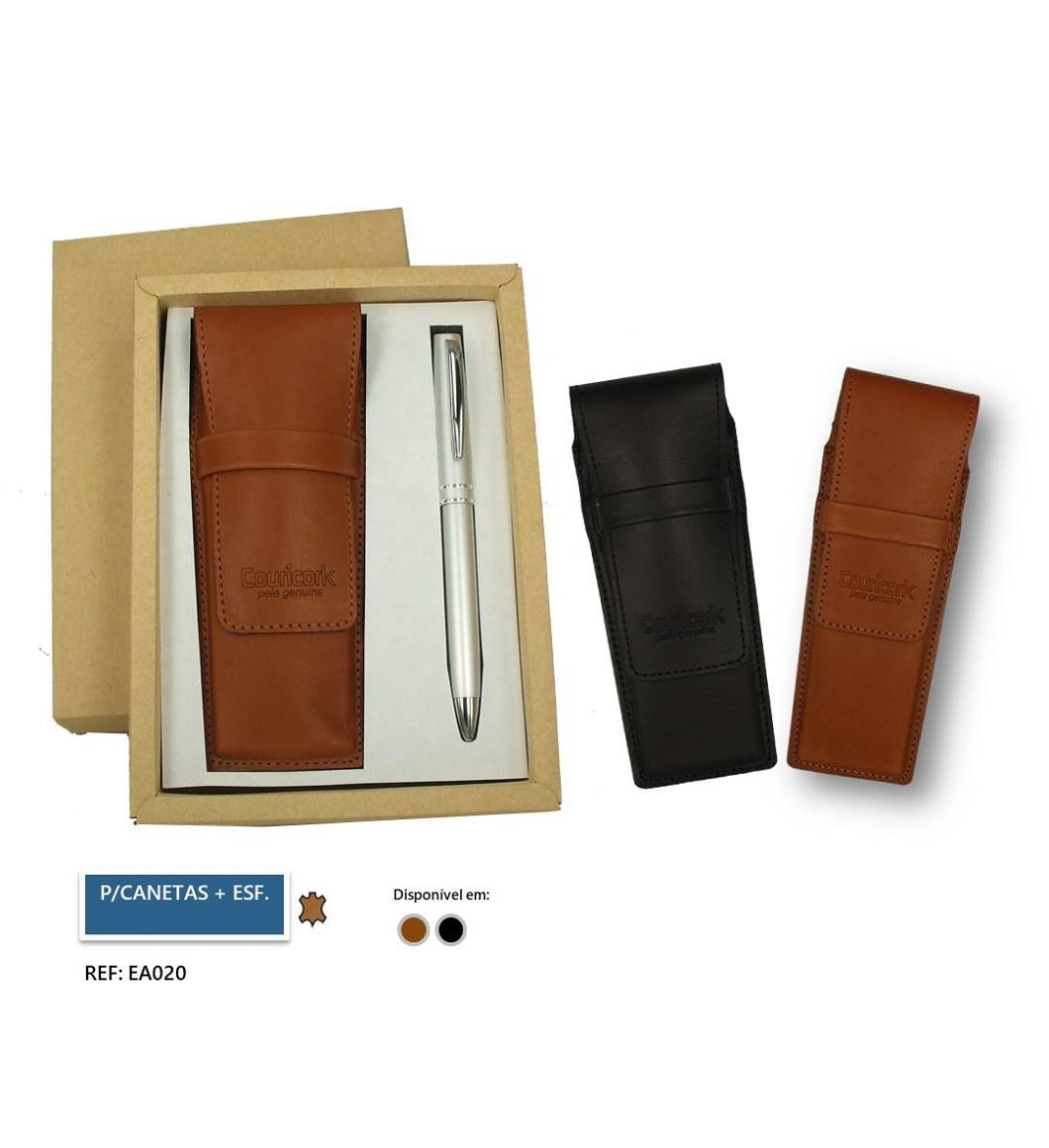 Porta-canetas + Esferográfica