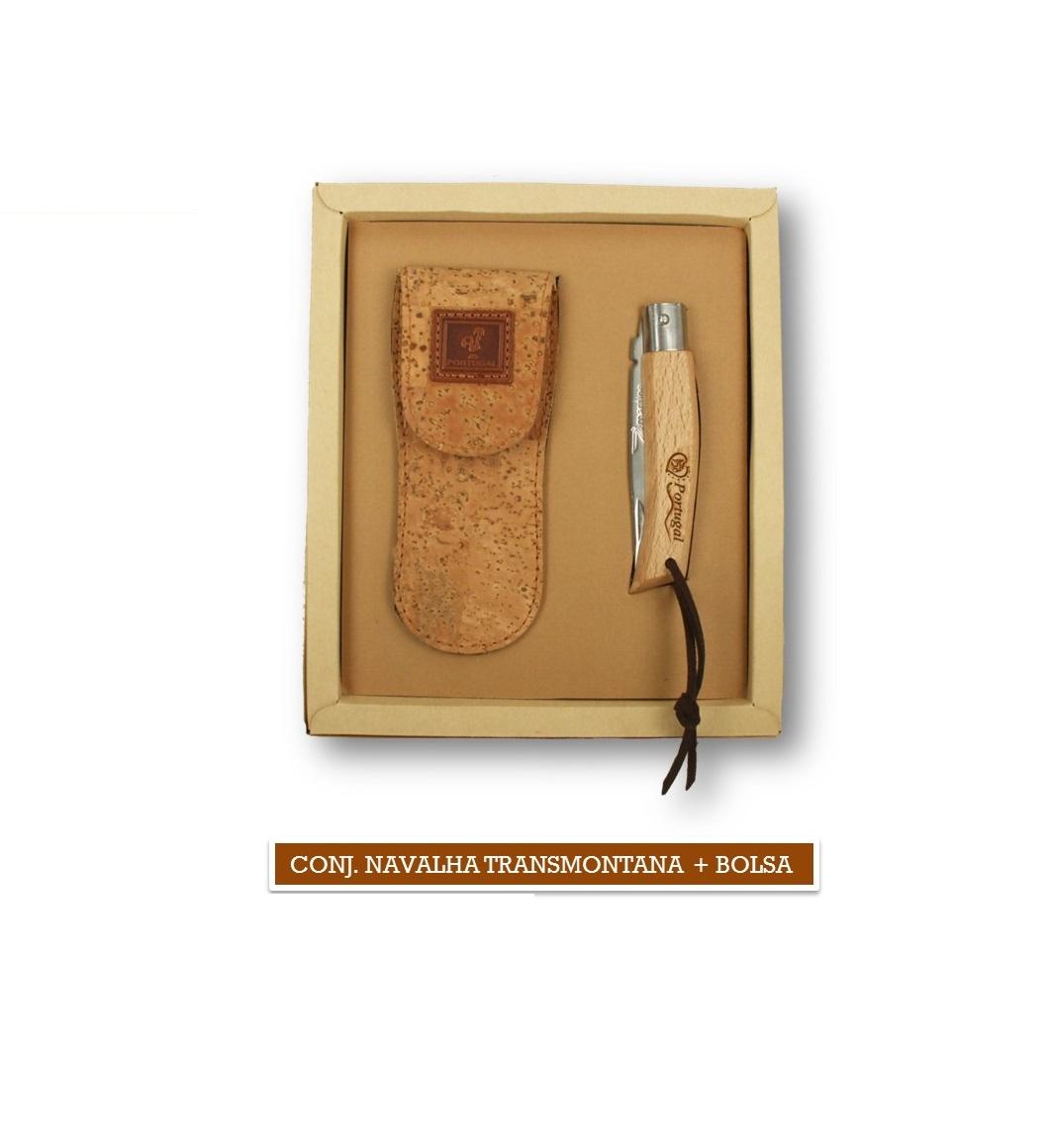 Conjunto Navalha Transmontana + Bolsa