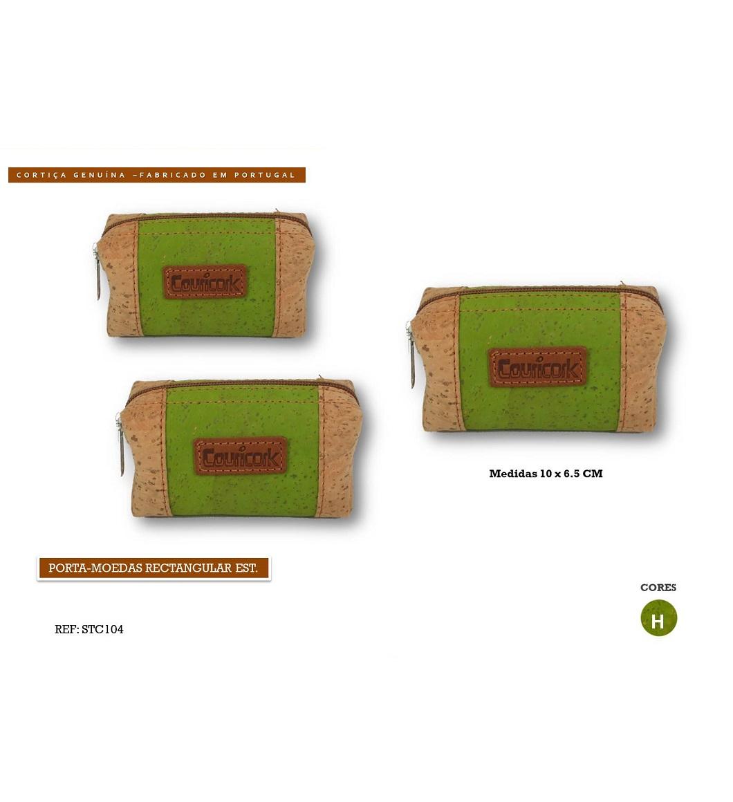Porta-moedas Retangular