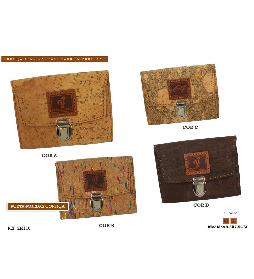 Porta-moedas Cortiça